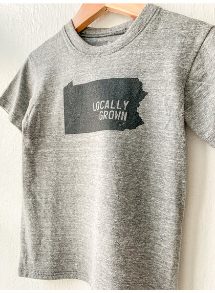 Kids Locally Grown Pennsylvania T-shirt