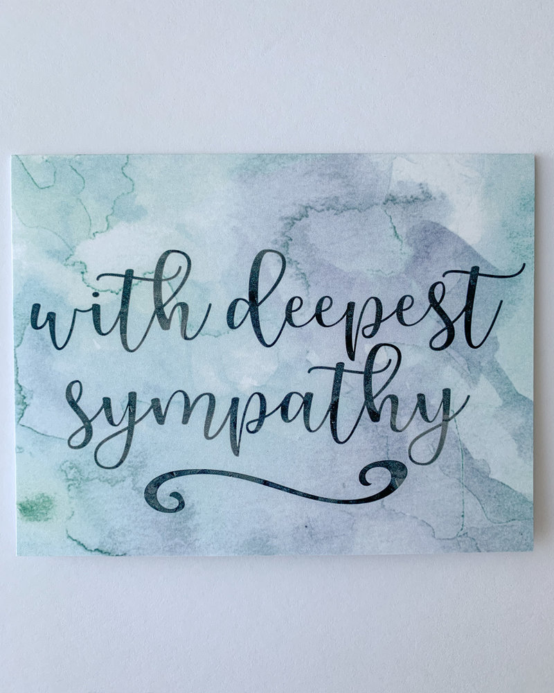 Sympathy - Thinking of You Cards