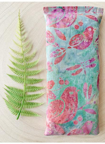 Aromatherapy Eye Pillow Purple Dragonfly Eucalyptus & Peppermint