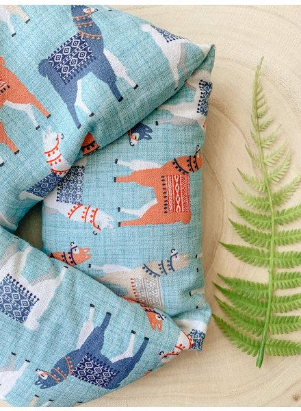 Aromatherapy Neck Wrap Llama Eucalyptus & Peppermint
