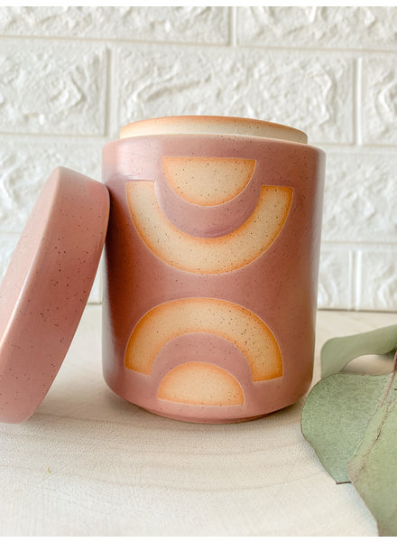 Paddywax Mandarin And Mango Candle/Planter