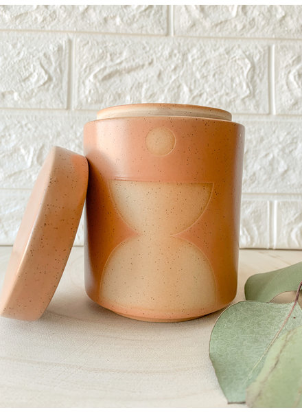 Paddywax Wild Fig And Vetiver Candle/Planter