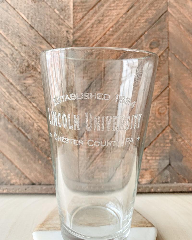 Lincoln University Pint Glasses