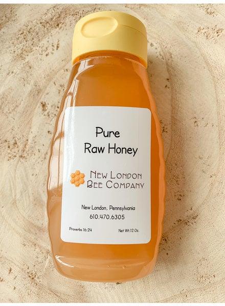 New London Bee Co New London Pure Raw Honey