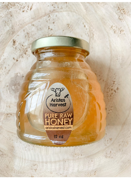 12 oz Skep Jar Honey