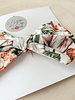 Hoop and Kay-Kasey Lombardo Hair Bow Clip Shimmer Floral