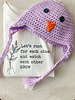 Handmade Chick Hat Purple