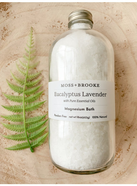 Moss and Brooke Eucalyptus Lavender  Magnesium Bath