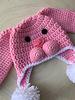 Handmade Bunny Hat Pink