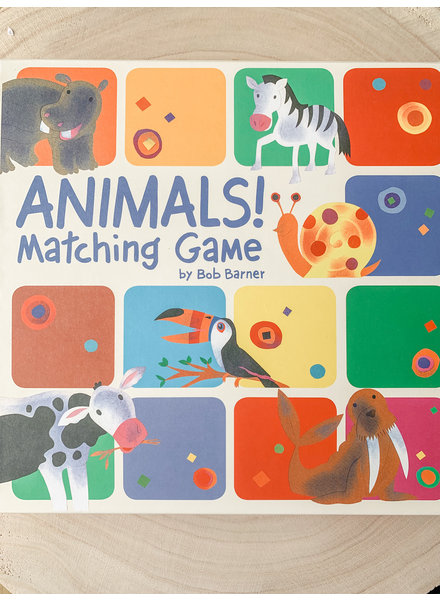Chronicle Books Animal Matching Game