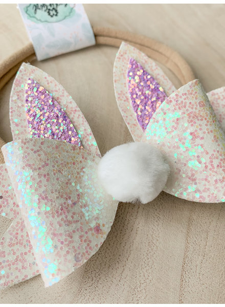 Bunny Ears And Tail Bow Headband