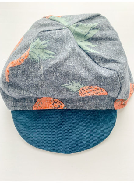 Oweee Baby Boys Reversible Cap Pineapple