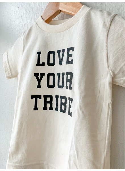 Tenth and Pine Love Your Tribe Organic Kids Tee