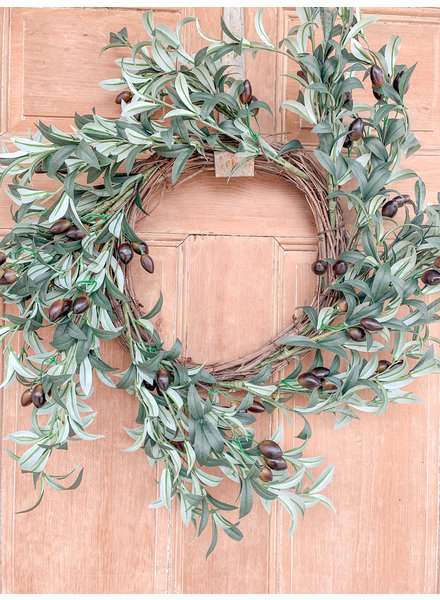 Primatives By Kathy Olive Wreath
