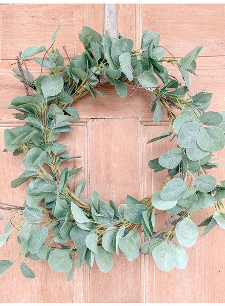 Primatives By Kathy Eucalyptus Wreath