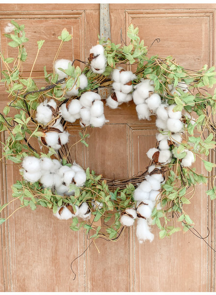 Primatives By Kathy Cotton and Greens Wreath