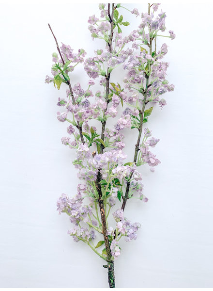 Mullberry Home Purple Wild Blossom Spray
