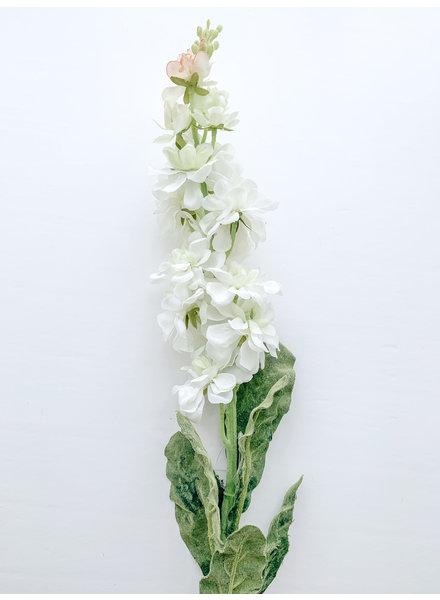 Mullberry Home White Stock Flower Stem