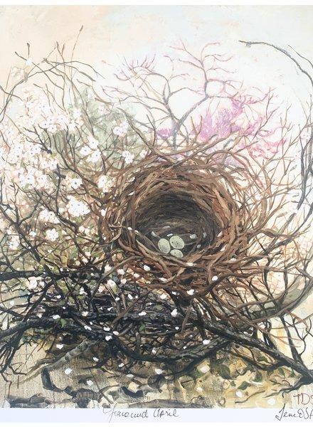 April Canvas by Temre Stanchfield