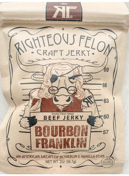 Righteous felon Righteous Felon Bourbon Franklin Beef Jerky