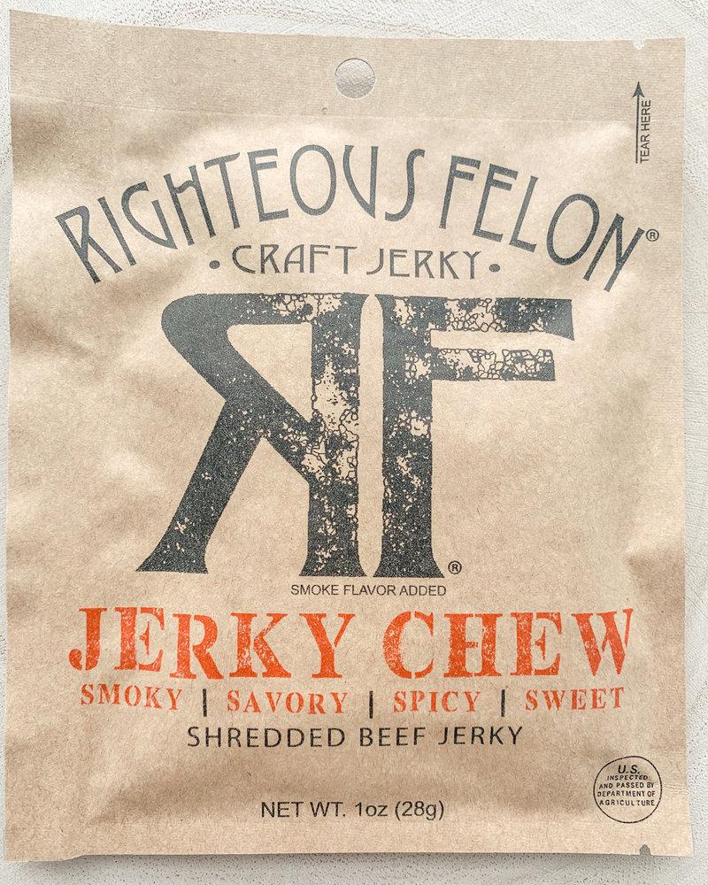 Righteous felon Righteous Felon Jerkey Chew