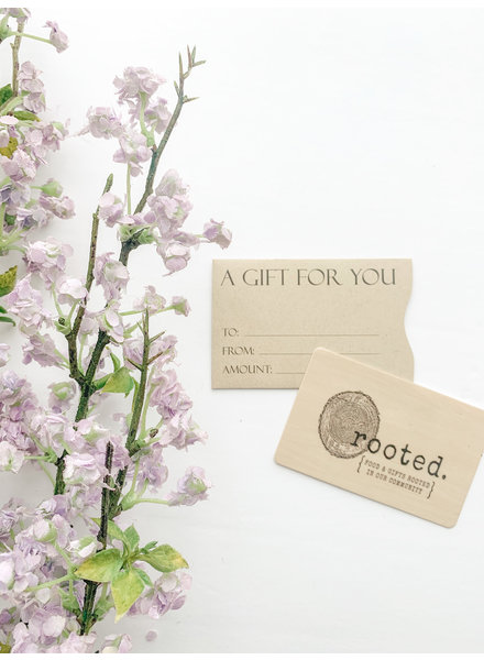 In Store Gift Card 100.00