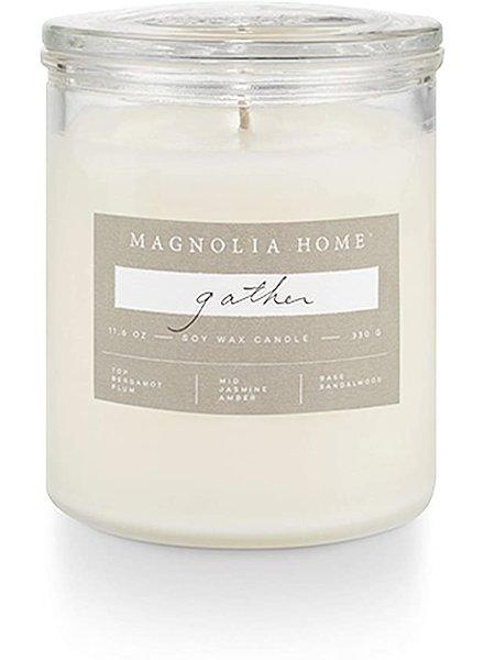 Illume Magnolia Home Gather Lidded Glass Candle