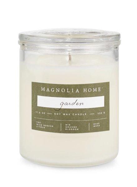 Illume Magnolia Home Garden Lidded Glass Candle