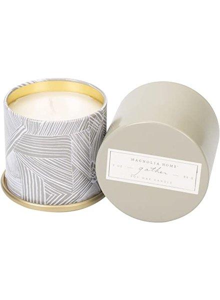 Illume Magnolia Home Gather Tin Candle