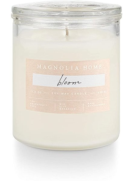 Illume Magnolia Home Bloom Lidded Glass Candle