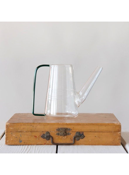 Creative Co Op Glass Watering Can