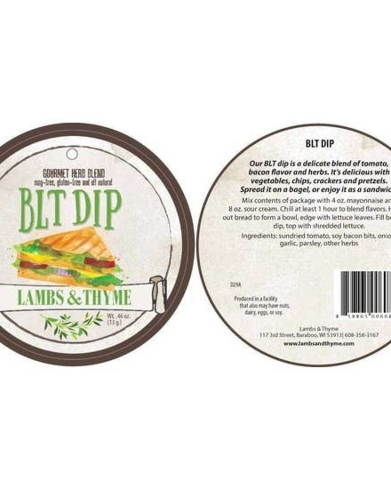 Lambs and Thyme BLT Dip