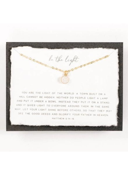 Dear Heart Be The Light 14KT Gold Filled Necklace