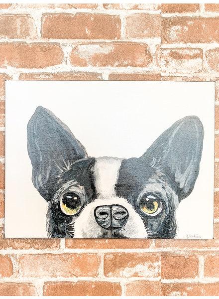 Karen Erskine Boston Terrier Canvas