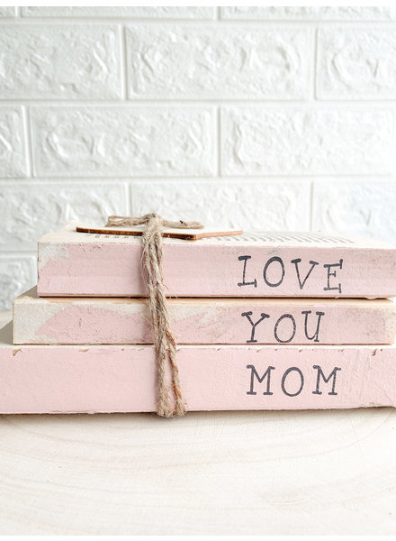 Dustin Yothers Love You Mom Book Stack