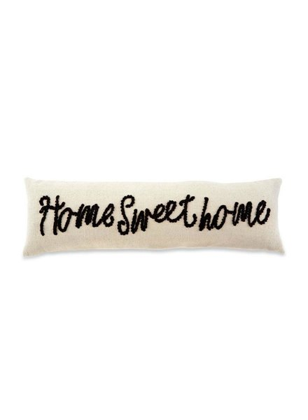 Mud Pie Home Sweet Home Knot Pillow