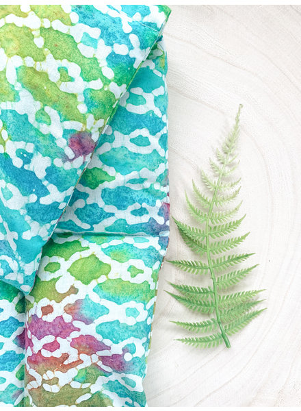 Aromatherapy Heat Pad Batik print Rosemary and Lavender