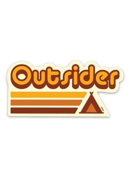 Keep Nature Wild Outsider Sticker