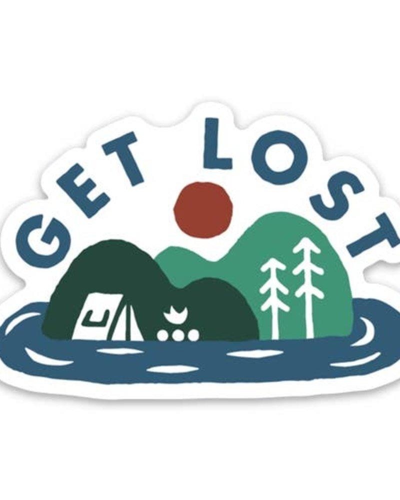 Keep Nature Wild Get Lost Sticker