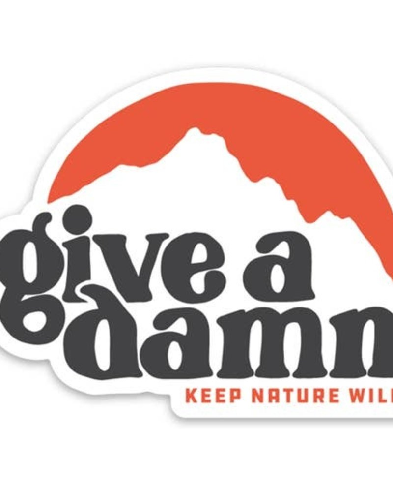 Keep Nature Wild Give A Damn Sticker