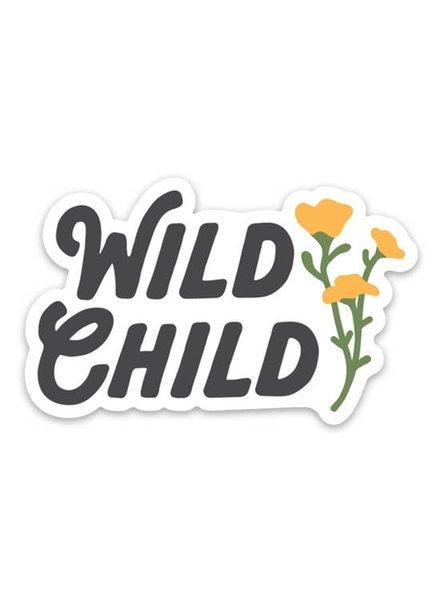 Keep Nature Wild Wild Child Sticker