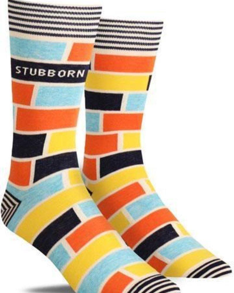Blue Q Mens Tall Socks Stubborn