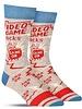 Blue Q Men's Tall Socks Video Game Socks