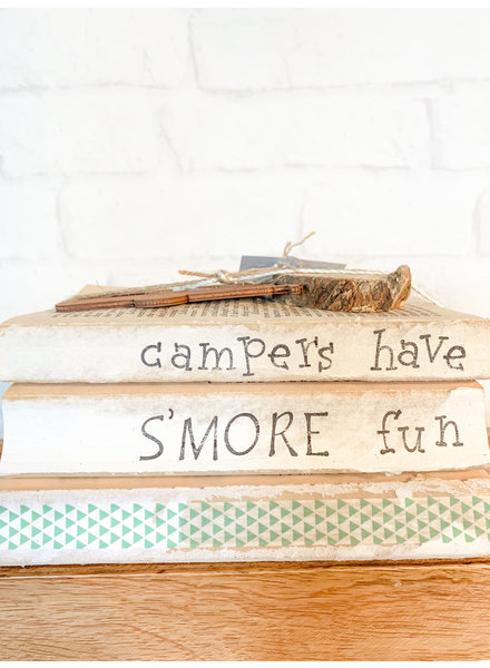 Dustin Yothers Campers have S'more Fun Book Stack