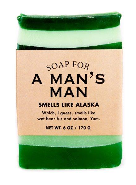 Whiskey River Soap Man's Man