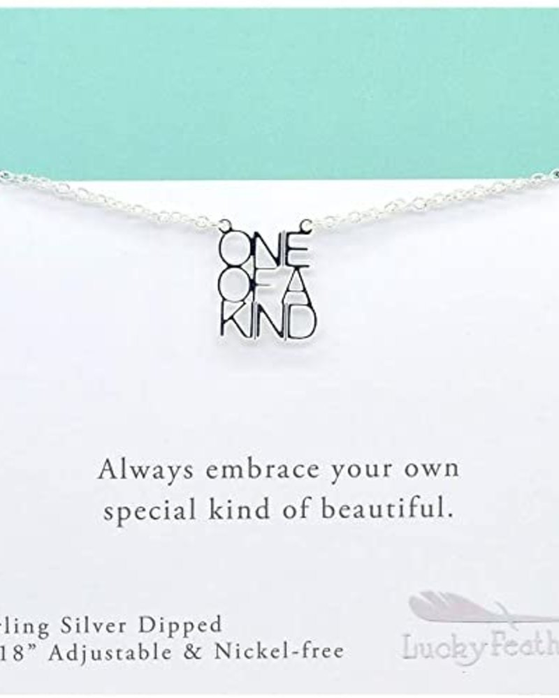 """""""One of a Kind"""" Silver Necklace"""