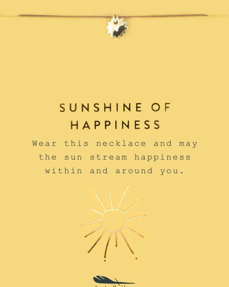 Sunshine of Happiness Gold Necklace