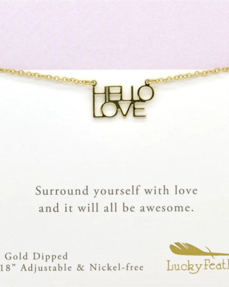 Hello love Necklace