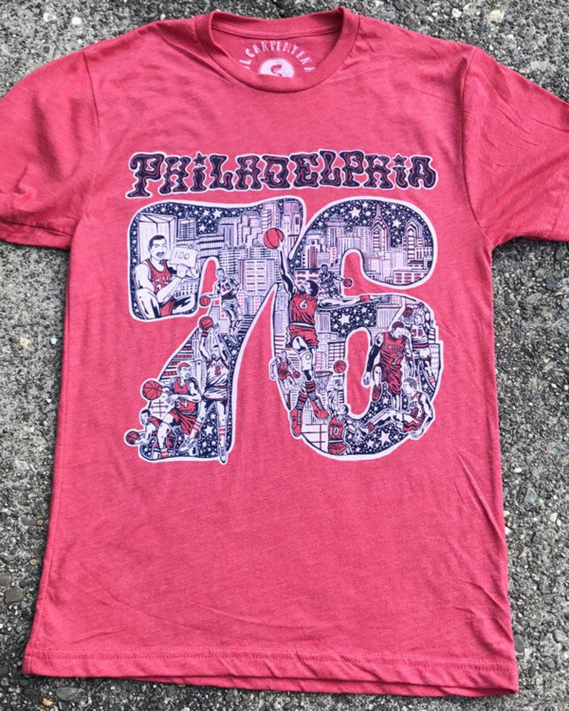 Paul Carpenter Philadelphia Sixers Unisex T-shirt