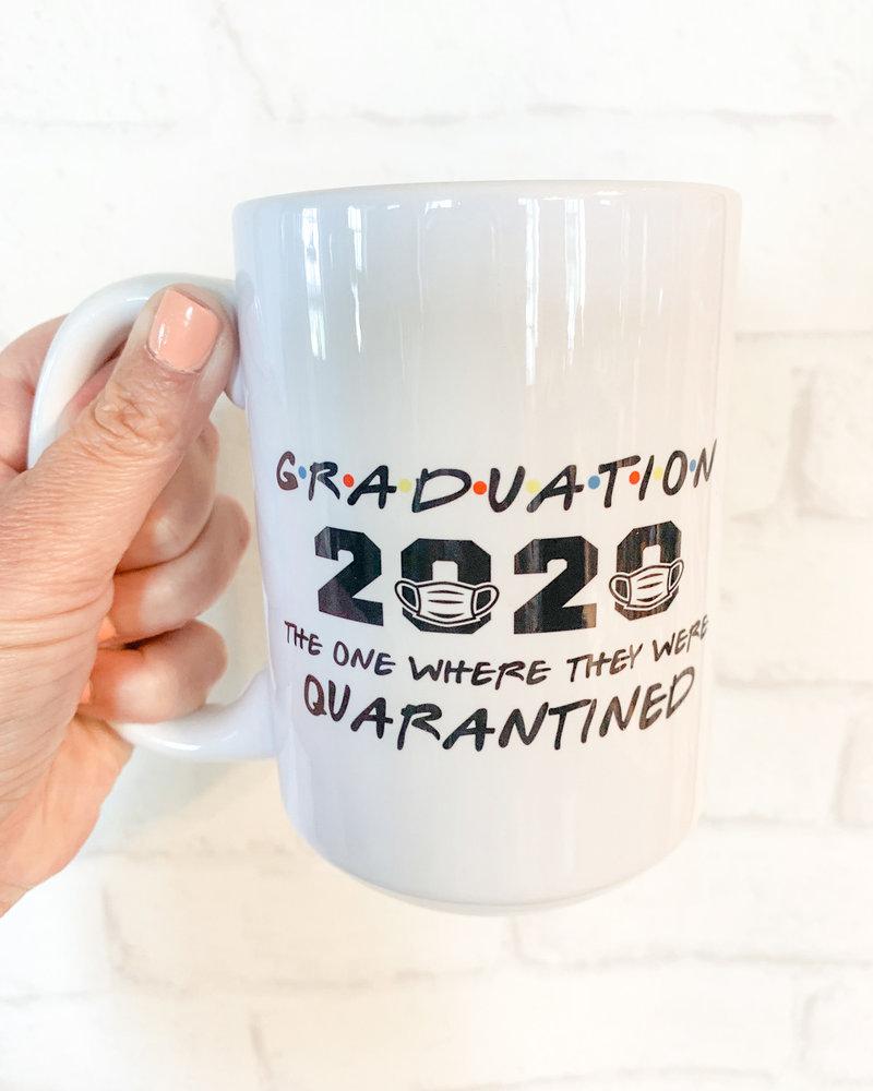 Graduation 2020 Where we were Quarantined Mug